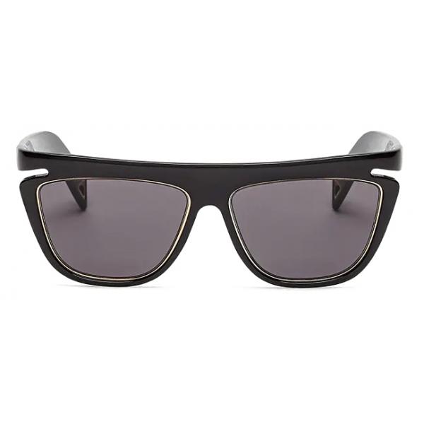 Fendi - Ffluo - Occhiali da Sole Squadrata - Nero - Occhiali da Sole - Fendi Eyewear