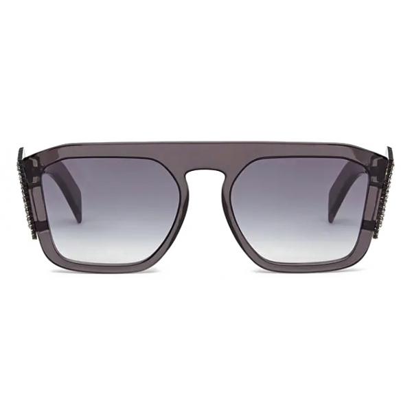 Fendi - Ffreedom - Occhiali da Sole Squadrata - Grigio - Occhiali da Sole - Fendi Eyewear