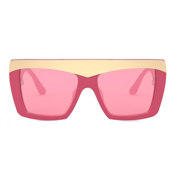Dolce & Gabbana - Blooming Sunglasses - Fuchsia Gold - Dolce & Gabbana Eyewear