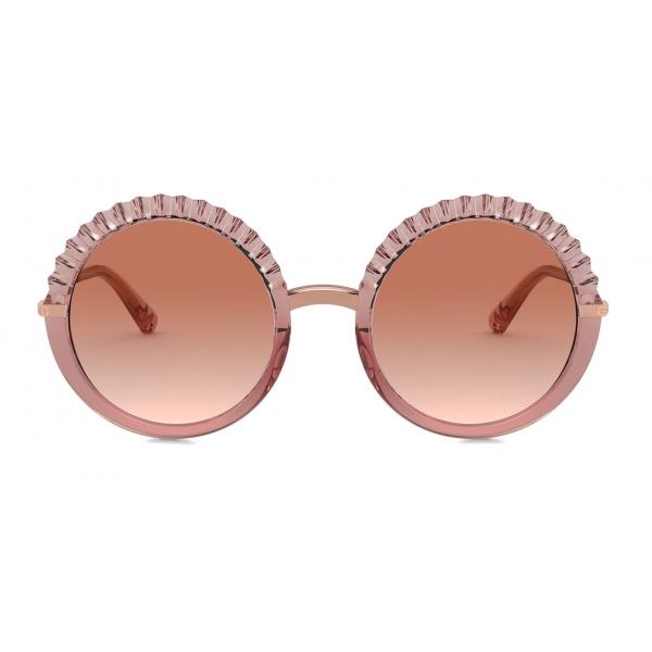Dolce & Gabbana - Plisse Sunglasses - Pink - Dolce & Gabbana Eyewear