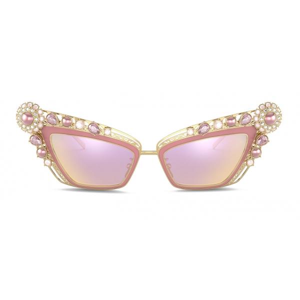 Dolce & Gabbana - Occhiale da Sole Christmas - Oro - Dolce & Gabbana Eyewear