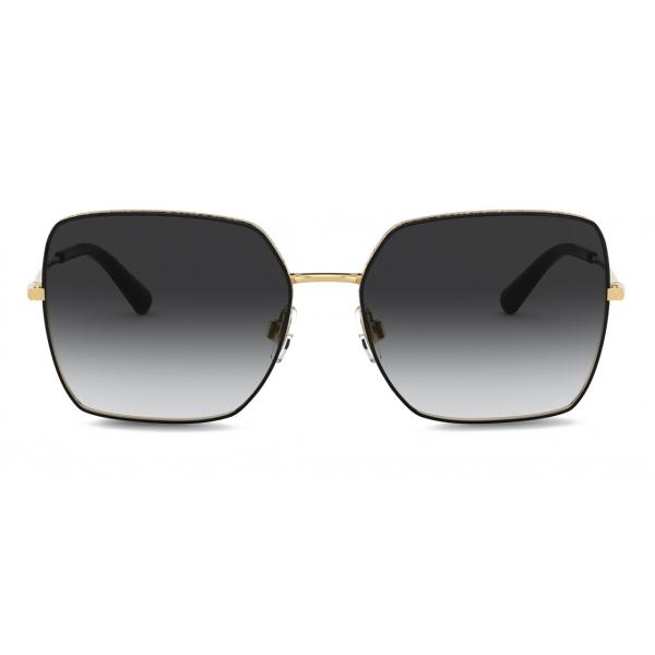 Dolce & Gabbana - Occhiale da Sole Slim - Oro Nero - Dolce & Gabbana Eyewear
