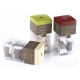 Vincente Delicacies - Tocchetti di Croccante alle Mandorle Sicilia Ricoperti di Cioccolato Fondente - Matador Crystal
