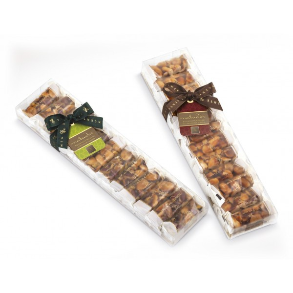 Vincente Delicacies - Crunchy Nougat Pieces With Sicilian Pistachio - Matador -  Assortment in Crystal Box