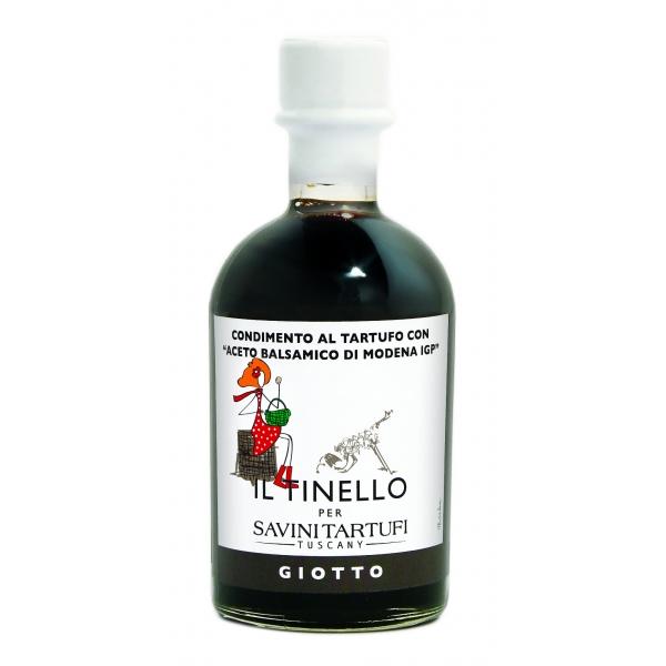 Il Borgo del Balsamico - Giotto - Condimento al Tartufo - Aceto Balsamico di Modena I.G.P.