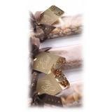 Vincente Delicacies - Crunchy Nougat Bar with Sicilian Hazelnuts - Eros - Opal Ribbon Flow-Pack