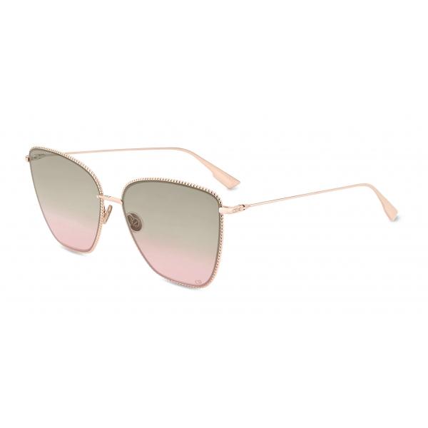 Dior - Occhiali da Sole - DiorSociety1 - Sfumate Marrone Rosa - Dior Eyewear