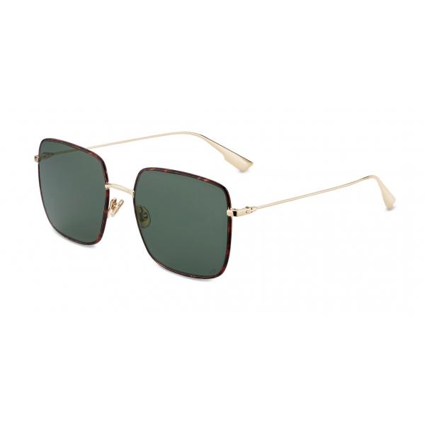 Dior - Sunglasses - DiorStellaire1XS - Green Tortoiseshell - Dior Eyewear