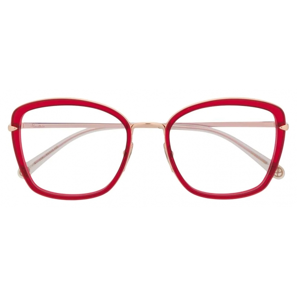 Pomellato - Occhiali Quadrati - Rosso Oro - Pomellato Eyewear