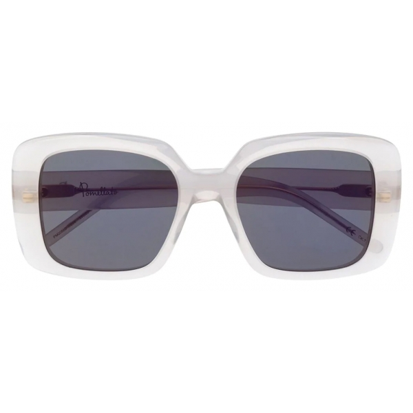 Pomellato - Occhiali da Sole Oversize - Bianco Argento - Pomellato Eyewear