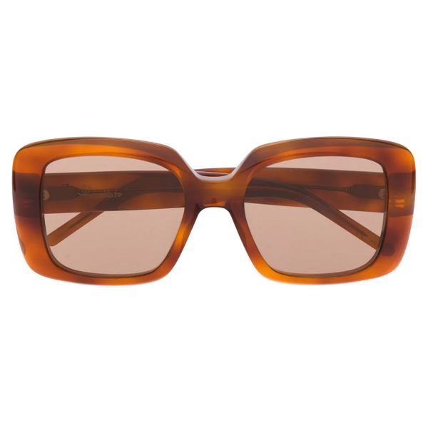 Pomellato - Occhiali da Sole Oversize - Tartaruga - Pomellato Eyewear