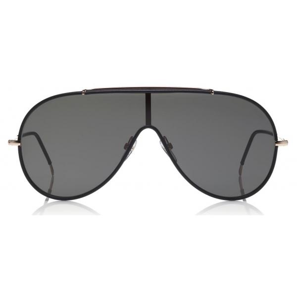 Tom Ford Mack Sunglasses Pilot Metal Sunglasses Black Ft0671 Sunglasses Tom Ford Eyewear Avvenice