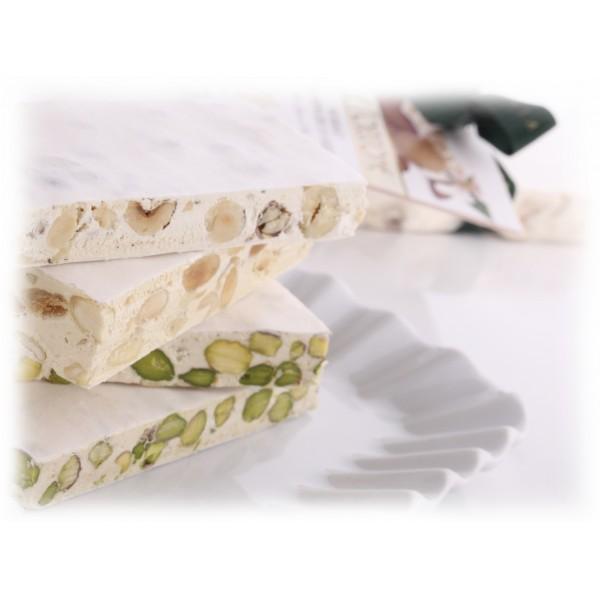 Vincente Delicacies - Torrone Morbido alle Nocciole Sicilia - Opal Fiocco - 400 g