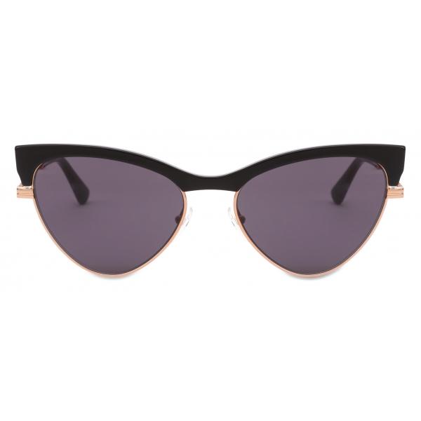 Moschino - Occhiali da Sole Cat-Eye - Nero - Moschino Eyewear