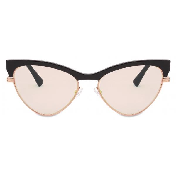 Moschino - Occhiali da Sole Cat-Eye - Giallo Chiaro - Moschino Eyewear