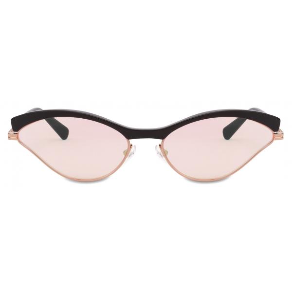 Moschino - Occhiali da Sole Sportivi Cat-Eye - Rosa - Moschino Eyewear