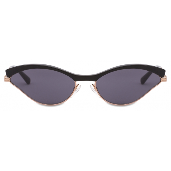 Moschino - Occhiali da Sole Sportivi Cat-Eye - Nero - Moschino Eyewear