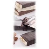 Vincente Delicacies - Torrone Morbido alla Mandorla Sicilia Ricoperto di Finissimo Cioccolato Bianco - Opal Fiocco