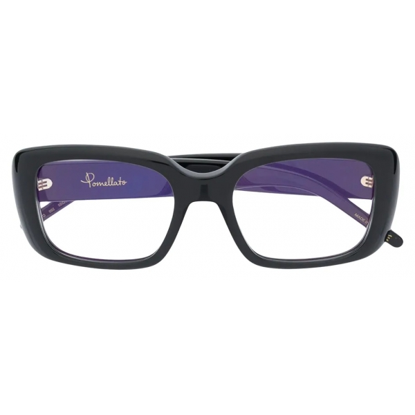 Pomellato - Square Glasses - Black - Pomellato Eyewear