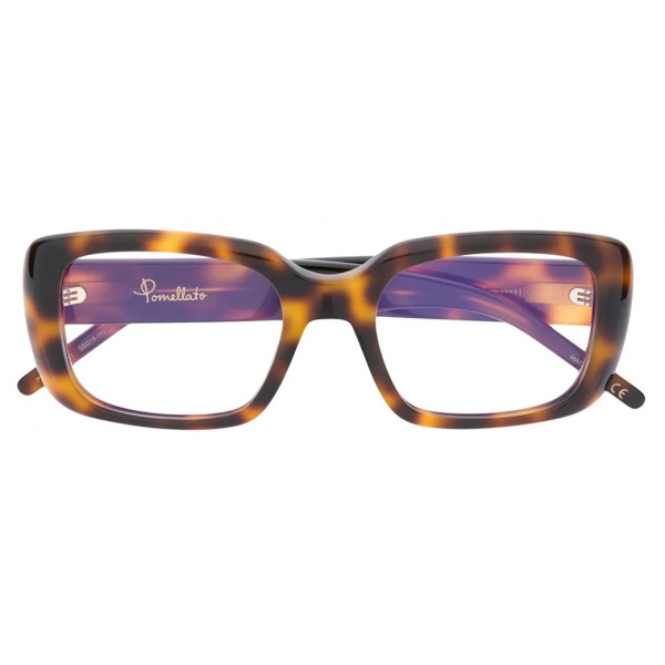 Pomellato - Occhiali Quadrati - Havana Scuro - Pomellato Eyewear