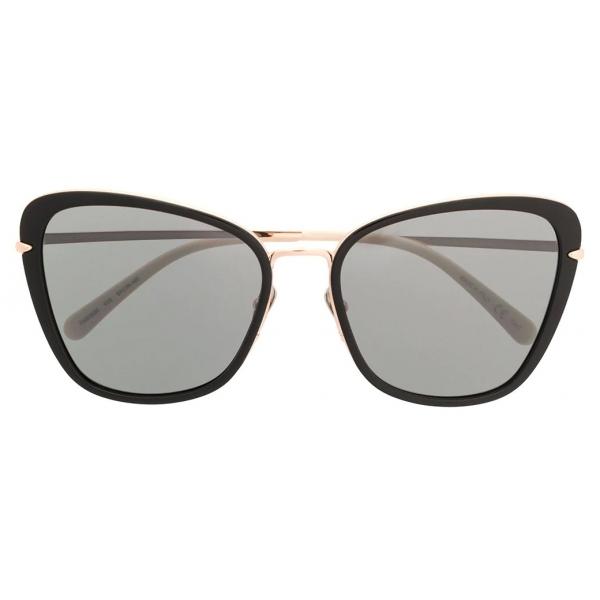 Pomellato - Occhiali da Sole a Farfalla - Nero Oro - Pomellato Eyewear