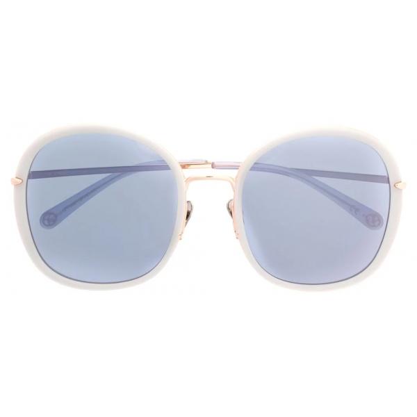 Pomellato - Occhiali da Sole Rotondi - Grigio - Pomellato Eyewear