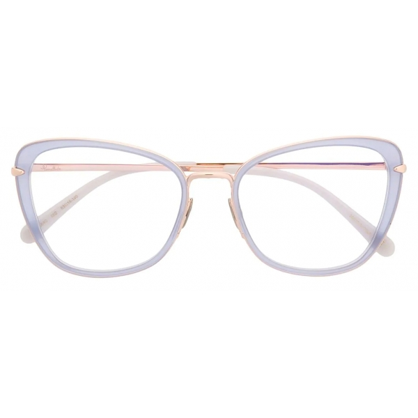 Pomellato - Butterfly Glasses - Blue Gold - Pomellato Eyewear
