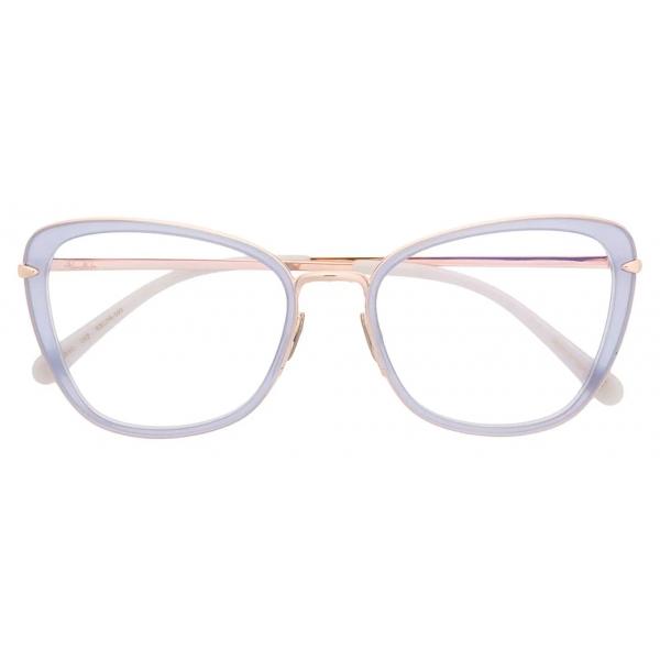 Pomellato - Occhiali a Farfalla - Blu Oro - Pomellato Eyewear