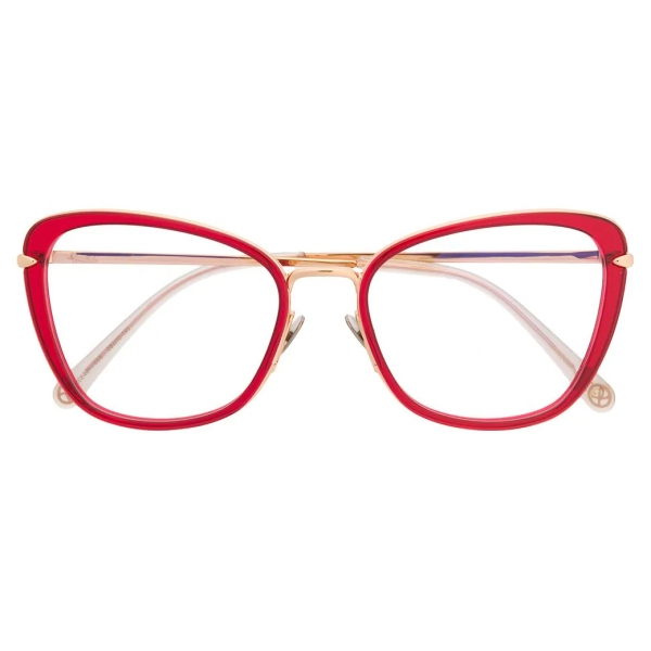 Pomellato - Butterfly Optical Glasses - Red Gold - Pomellato Eyewear