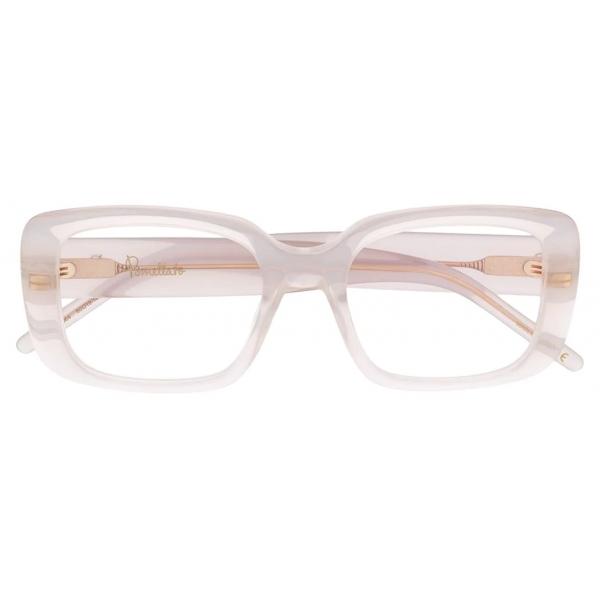 Pomellato - Occhiali Rettangolari - Bianco Trasparente - Pomellato Eyewear