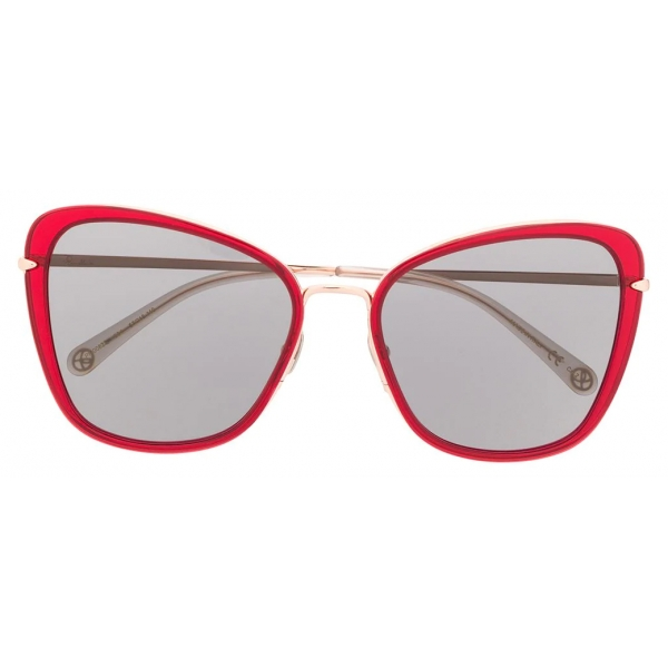 Pomellato - Cat Eye Sunglasses - Red Black - Pomellato Eyewear