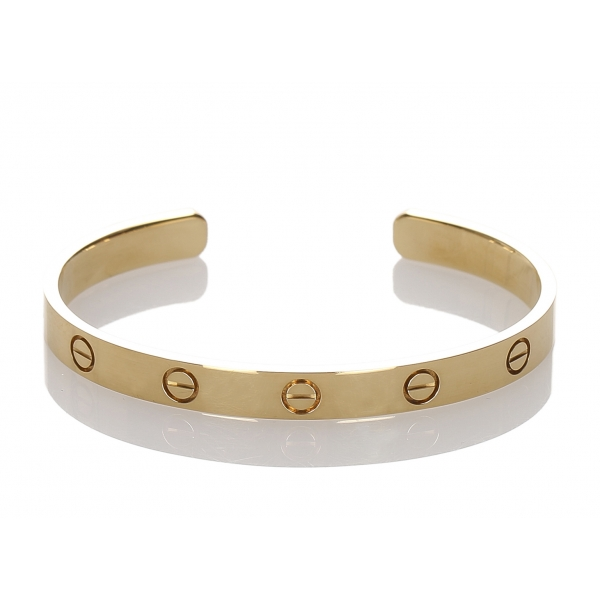 Cartier Vintage - Love Bracelet - Cartier Bracelet in Yellow Gold 18K - Luxury High Quality