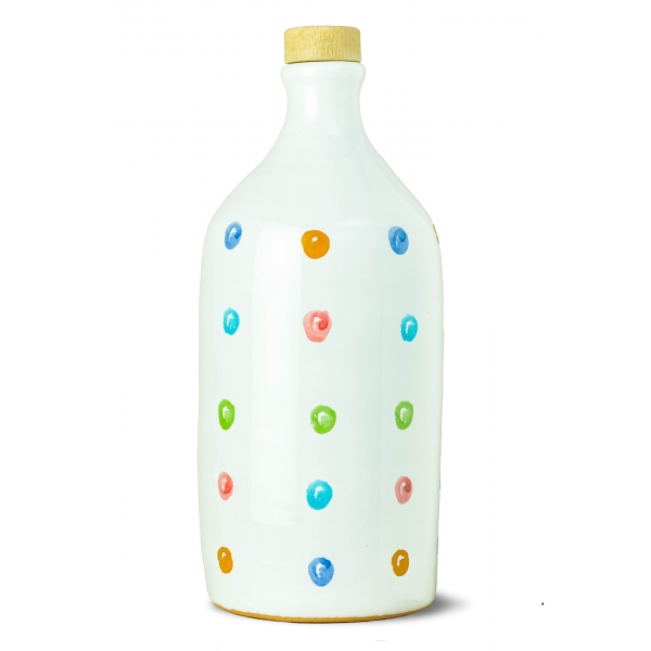 Frantoio Muraglia - Pois Ceramic Jar - Intense Fruity - Orcio Collection - Italian Extra Virgin Olive Oil - High Quality