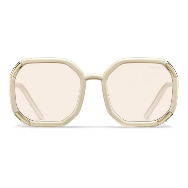 Prada - Prada Decode - Contemporary Sunglasses - Pearly Ivory - Prada Collection - Sunglasses - Prada Eyewear