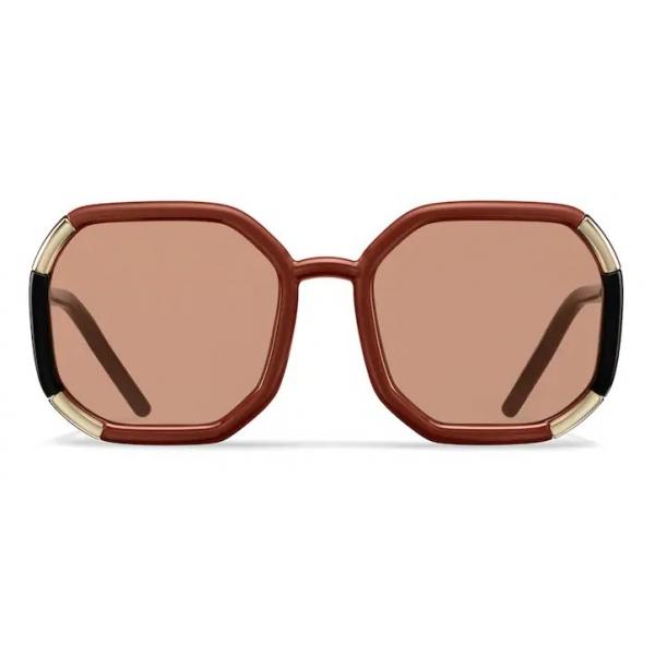 Prada - Prada Decode - Contemporary Sunglasses - Rust Black - Prada Collection - Sunglasses - Prada Eyewear
