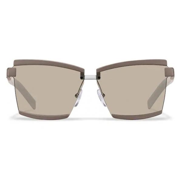 Prada - Prada Duple - Rectangular Sunglasses - Clay Taupe - Prada Collection - Sunglasses - Prada Eyewear