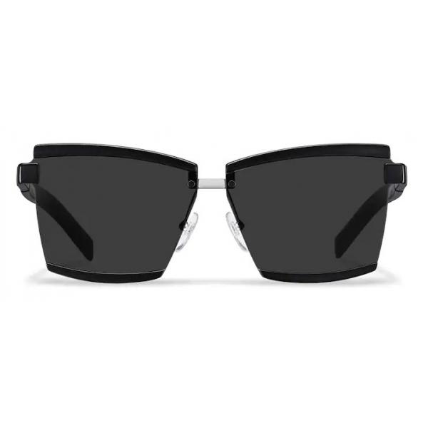 Prada - Prada Duple - Rectangular Sunglasses - Black - Prada Collection - Sunglasses - Prada Eyewear