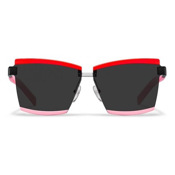 Prada - Prada Duple - Rectangular Sunglasses - Red Pink - Prada Collection - Sunglasses - Prada Eyewear