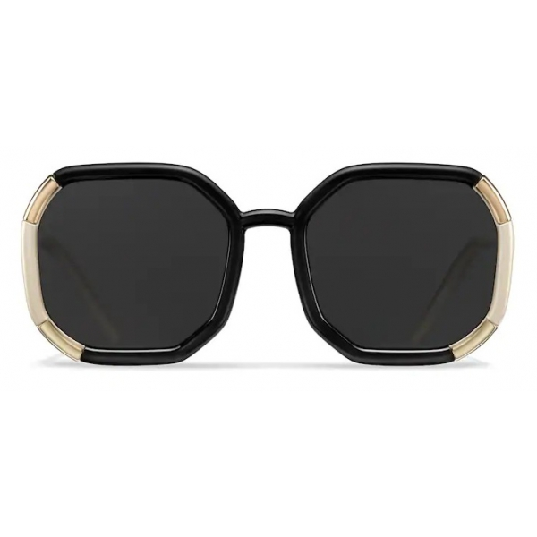 Prada - Prada Decode Collection - Occhiali Contemporary - Nero + Avorio Perlato - Occhiali da Sole - Prada Eyewear