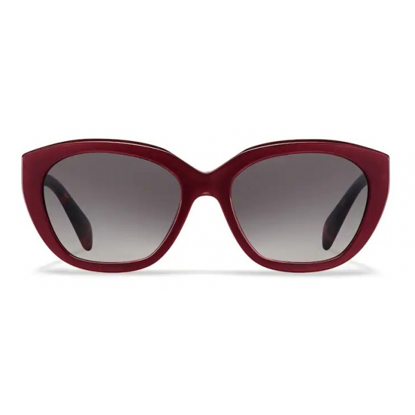 Prada - Prada Eyewear Collection - Occhiali Cat-Eye - Rosso Opalino - Prada Collection - Occhiali da Sole - Prada Eyewear