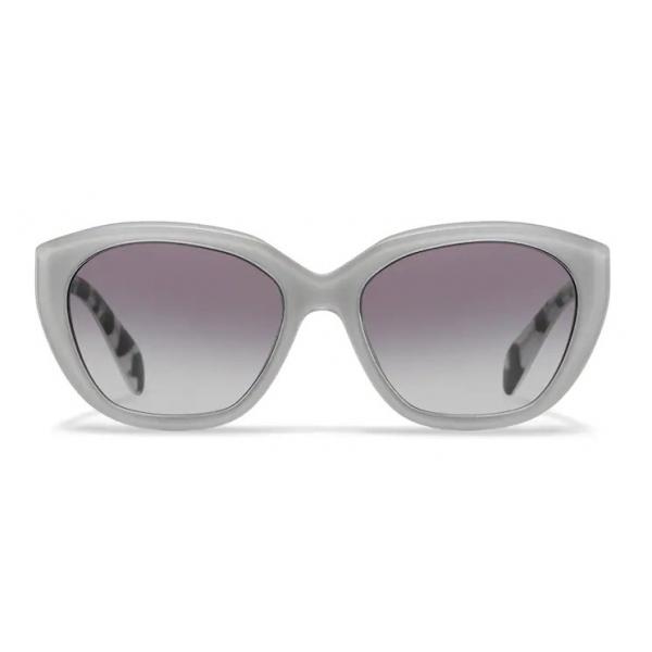 Prada - Prada Eyewear - Cat Eye Sunglasses - Crystal Chalk White - Prada Collection - Sunglasses - Prada Eyewear