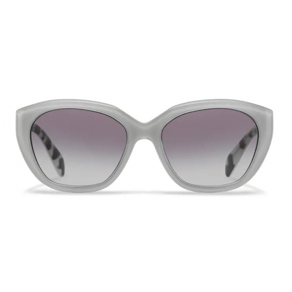 Prada - Prada Eyewear Collection - Occhiali Cat-Eye - Cristallo Talco - Prada Collection - Occhiali da Sole - Prada Eyewear