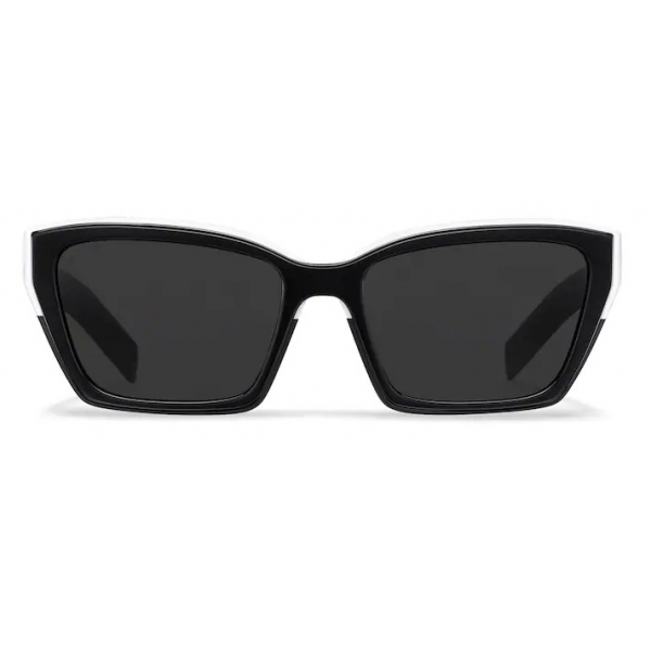 Prada - Prada Duple Collection - Occhiali Rettangolare - Nero Bianco - Prada Collection - Occhiali da Sole - Prada Eyewear