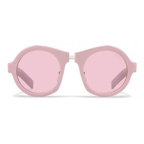 Prada - Prada Duple - Round Sunglasses - Petal Pink - Prada Collection - Sunglasses - Prada Eyewear