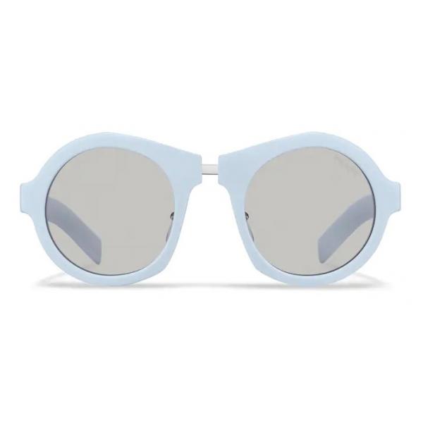 Prada - Prada Duple - Round Sunglasses - Cloudy Blue - Prada Collection - Sunglasses - Prada Eyewear