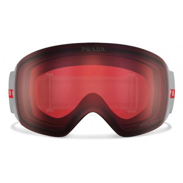Prada - Maschera da Neve per Oakley - Rosso - Prada Collection - Occhiali da Sole - Prada Eyewear