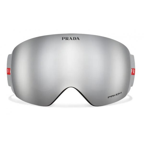 Prada - Maschera da Neve per Oakley - Grigio Specchio - Prada Collection - Occhiali da Sole - Prada Eyewear
