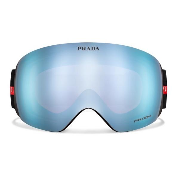 Prada - Maschera da Neve per Oakley - Blu Specchio - Prada Collection - Occhiali da Sole - Prada Eyewear