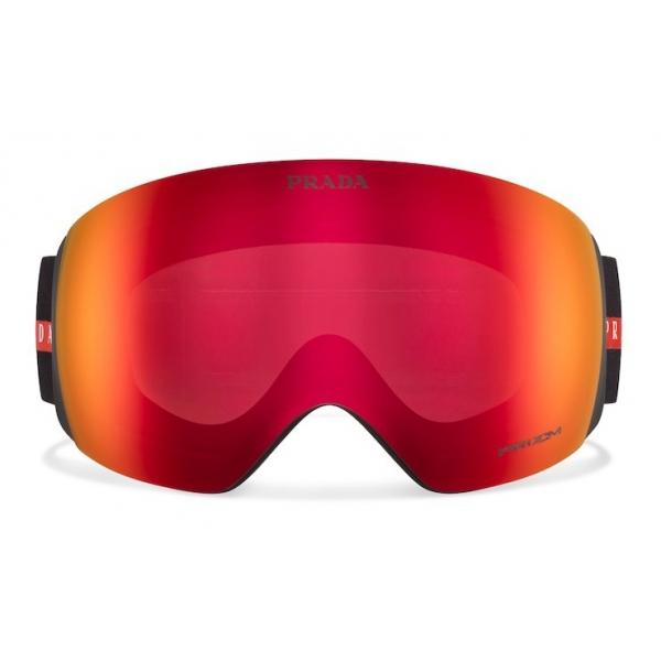 Prada - Maschera da Neve per Oakley - Arancione Specchio - Prada Collection - Occhiali da Sole - Prada Eyewear