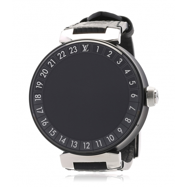 Louis Vuitton Vintage - Tambour Horizon QA051 - Black - LV Watch - Luxury High Quality